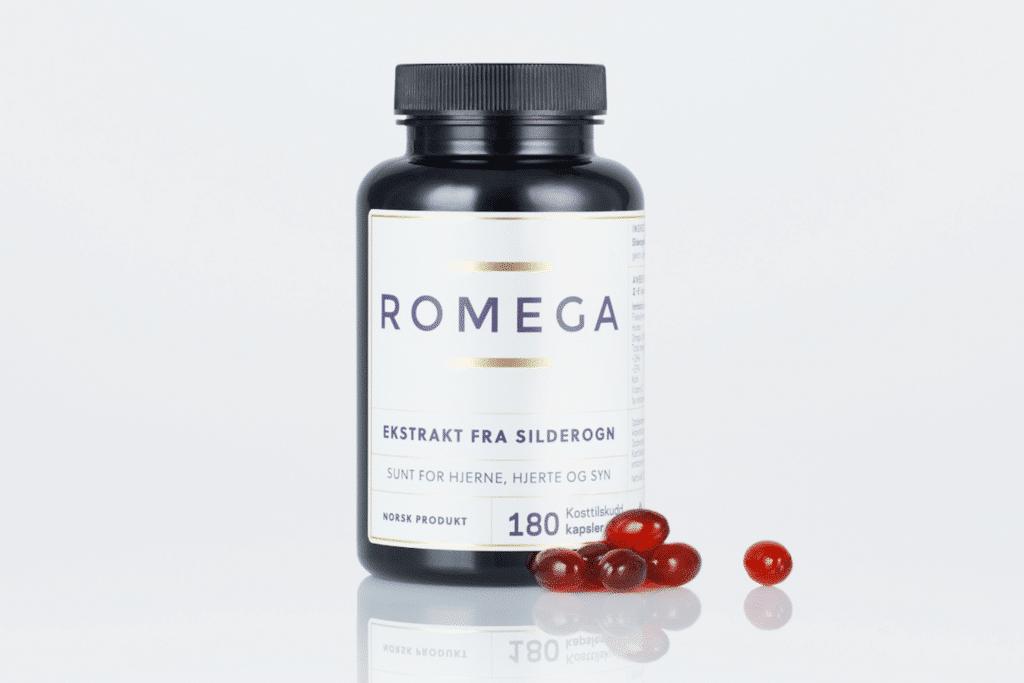 Romega branded omega-3 products